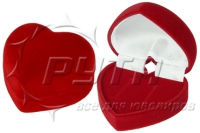 40702 Case flocked handbag is heart, a series of Romance