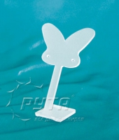 451118 Butterfly-shaped stand for earrings,  with holes