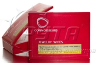 211110 Jewelry wipes CONNOISSEURS (25 pcs/7, 6х9, 2cm)