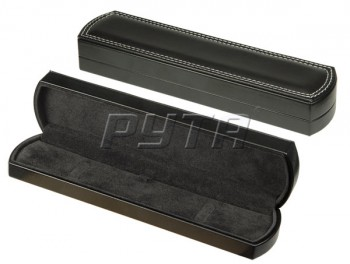 71204 Plastic box,  artificial leather cover,  Charlie collection