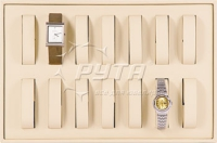 411407 Display tray for 14 watches,  with removable inserts