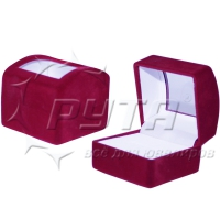 82001 Flocked box with a transparent lid, the series Revelation