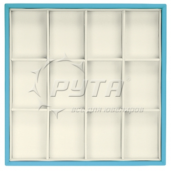 414218 Display tray, no inserts, 12 cells (cell size 47х65)
