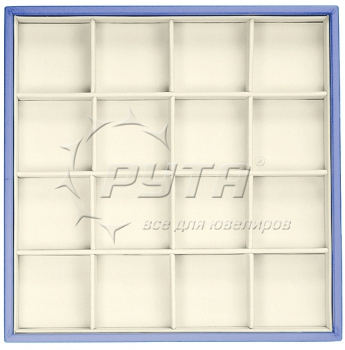 414224 Display tray, no inserts, 16 cells (cell size 47х47)
