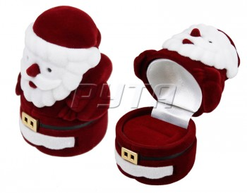 51301 Flocked case, Santa Claus, New Year series