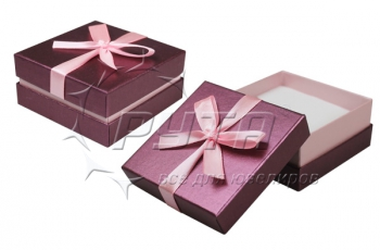 91230 Cardboard box with a ribbon on the lid. Happy garden collection, 84x84