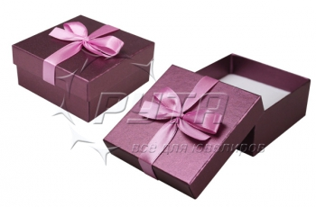 90230 Hard cardboard with ribbon on the lid, a series of Pearl classic 84х84