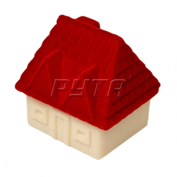 32701 Flocked box, a house, Children's collection