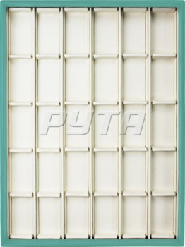 410230/Д Display tray,  no inserts,  inserts holders,  30 cells (cell size 33х53)
