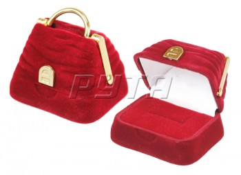 42601 Flocked box, bag, a series of Romance