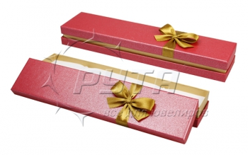 91105 Cardboard box with a ribbon on the lid. Happy garden collection, 205x45