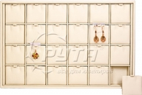 411102 Display tray for 24 pairs of earrings / Removable inserts