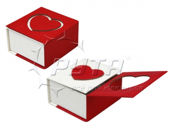 94330 Cardboard case,  series Love / top flap on magnets 60x60