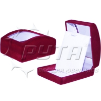 82203 Flocked box with a transparent lid, the series Revelation