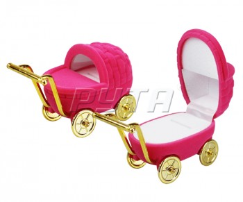 34301 Flocked box, a stroller, Children's collection