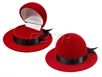 42201 Flocked case, hat, series Romance
