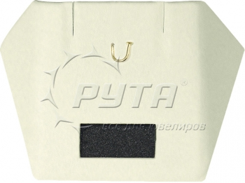 ВК208 Insert with wings, a hook and a tag window, for earrings and pendants