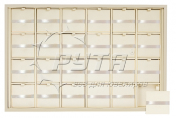 411504 Display tray for 24 charms,  insert size 47х47х3  mm