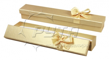 90605 Hard cardboard with ribbon on the lid, a series of Pearl classic 185х29