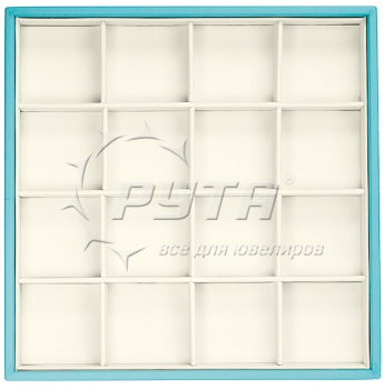 414224/Д Display tray,  no inserts,  inserts holders,  16 cells (cell size 47х47)